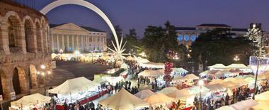 Verona, between Christmas cribs and Christmas markets